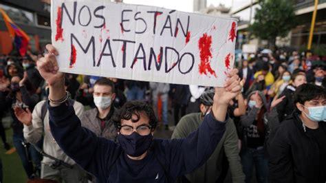Colombia en llamas: el fin del neoliberalismo será violento