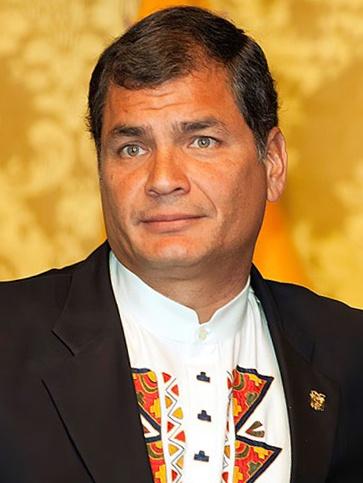 Ecuador: Entrevista al exPresidente Rafael Correa
