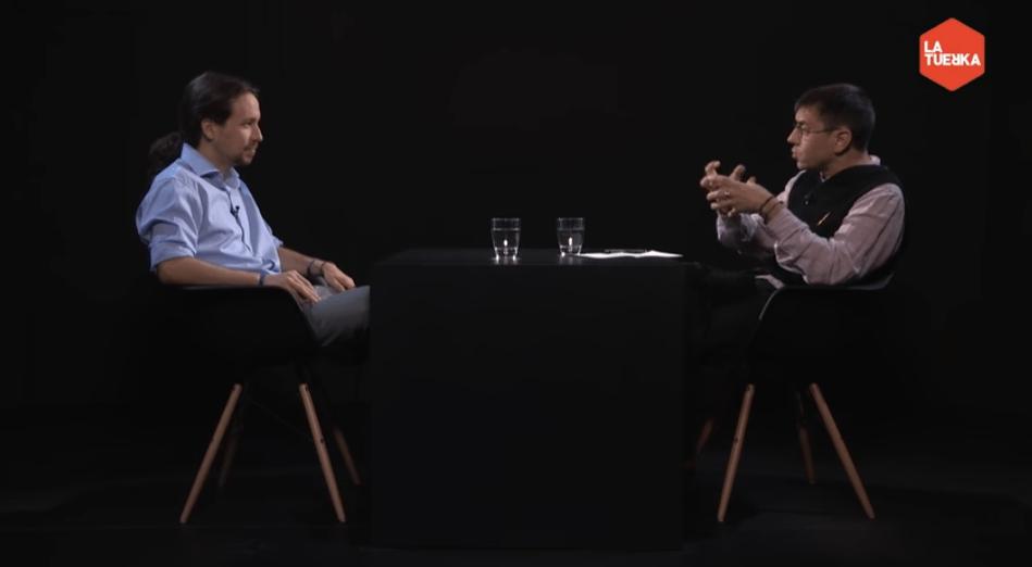 Monedero se confiesa ante Pablo Iglesias: 'Yo sé que tú eres de los que no traicionan'