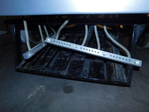 Pierce Gates Bronco Battery Rack
