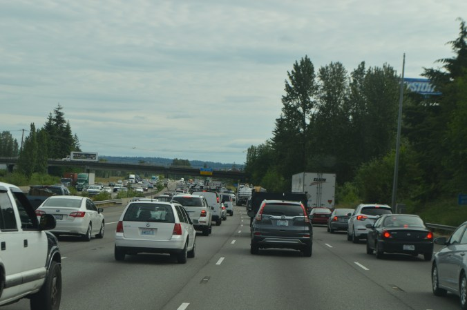 I-5 near Fife curve