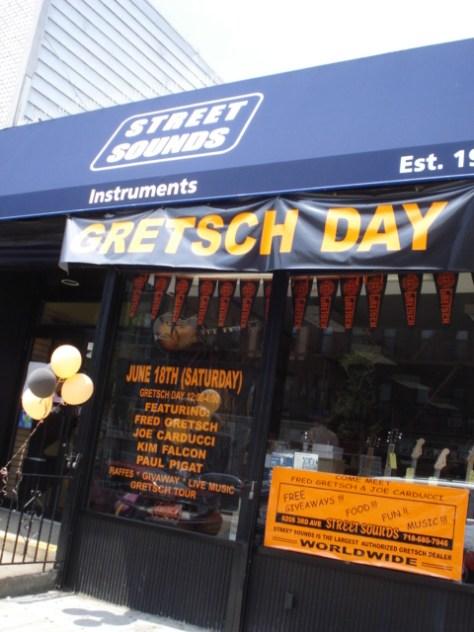 gretsch day, gretsch day 2011, gretsch guitars, street sounds instruments