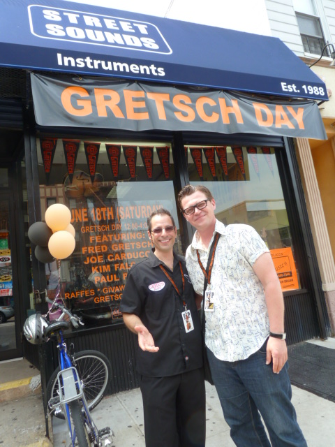 gretsch day, gretsch day 2011, gretsch guitars, street sounds instruments