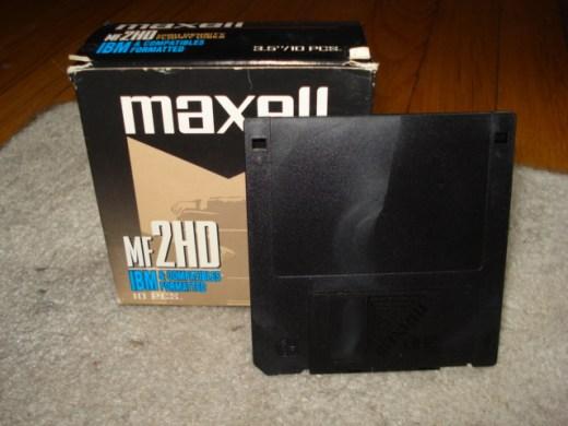 floppy disks,