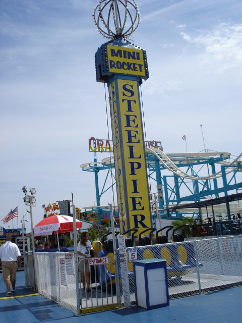 steel pier, steel pier amusement part, atlantic city new jersey