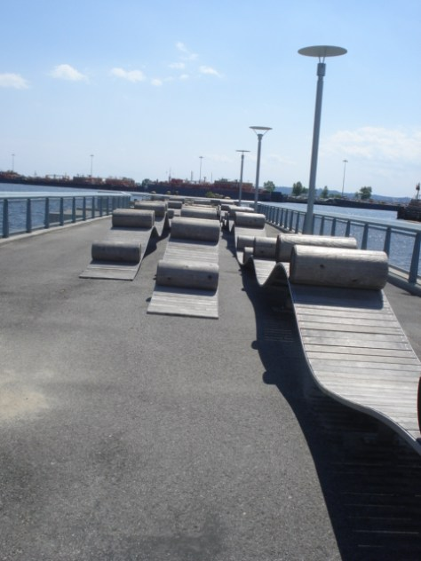erie basin park, red hook brooklyn