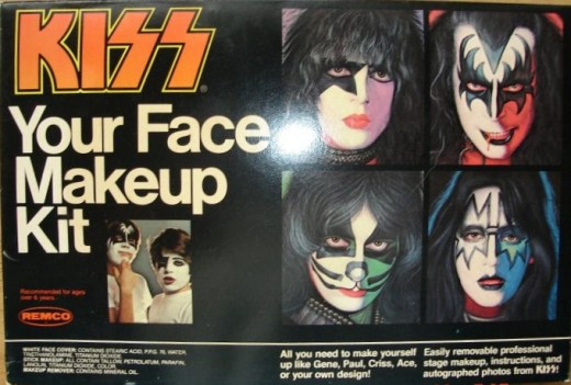 Photo - KISS Your Face Makeup Kit - 1978