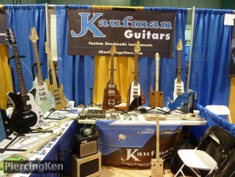 kaufman guitars, ny guitar show and exposition 2016, kaufman guitars 2016