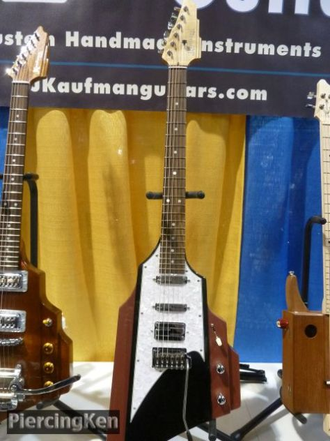 kaufman guitars, ny guitar show and exposition 2016, kaufman guitars 2016
