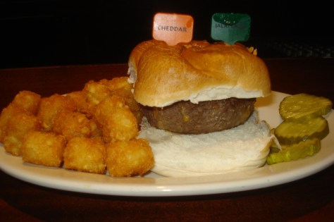 The 13th Step Stuffed Burger