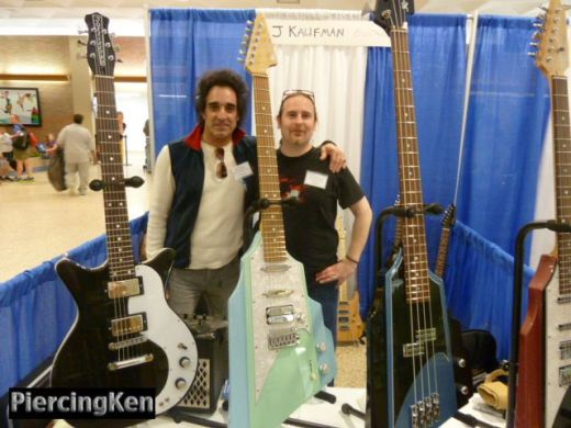 ny guitar show and exposition 2013, jkaufman guitars