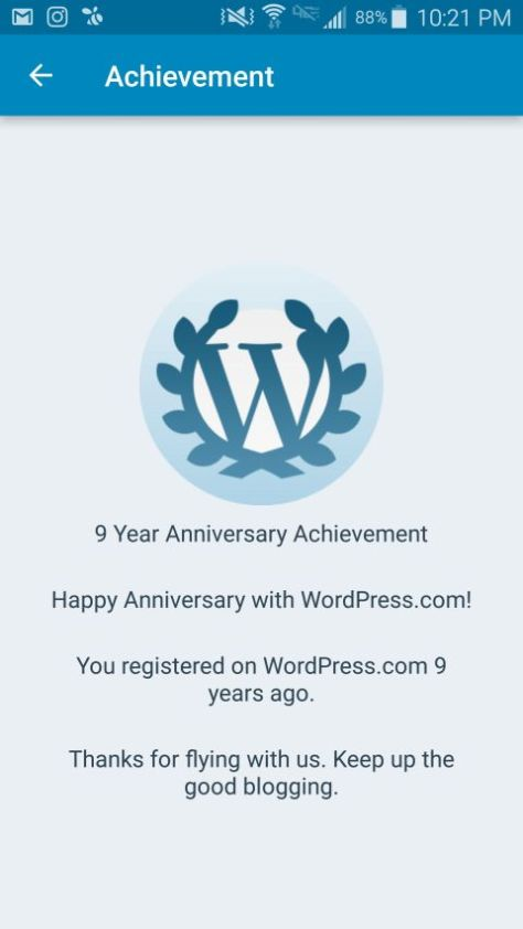 Photo - WordPress - 9th Anniversary
