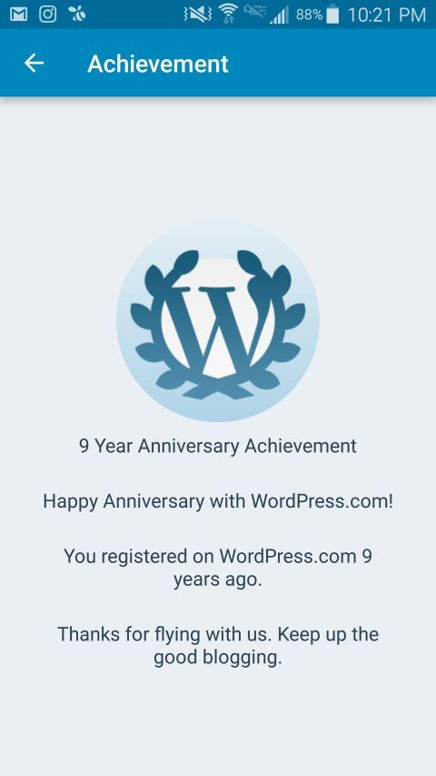 Photo - WordPress - 9th Anniversary