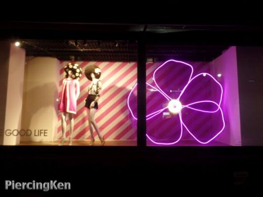 good life designs, macy's windows