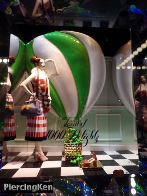 saks fifth avenue, land of 1000 delights