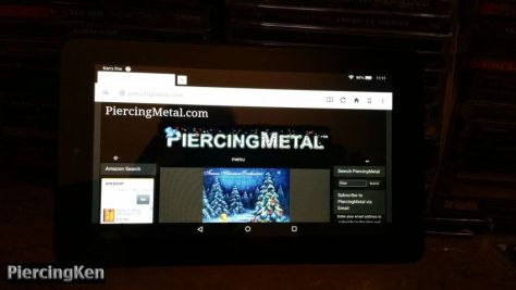 kindle fire tablet, metal media office