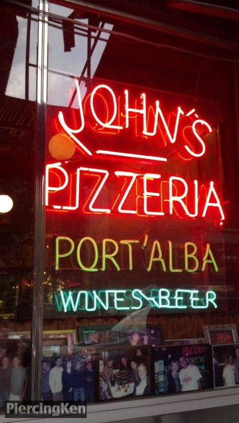 john's pizzeria, john's of bleecker street
