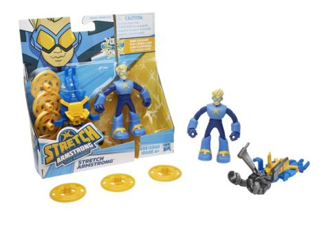 hasbro, action figures, stretch armstrong, stretch armstrong and the flex fighters