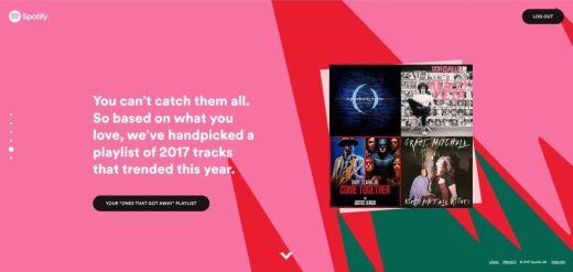 spotify, 2017 wrapped