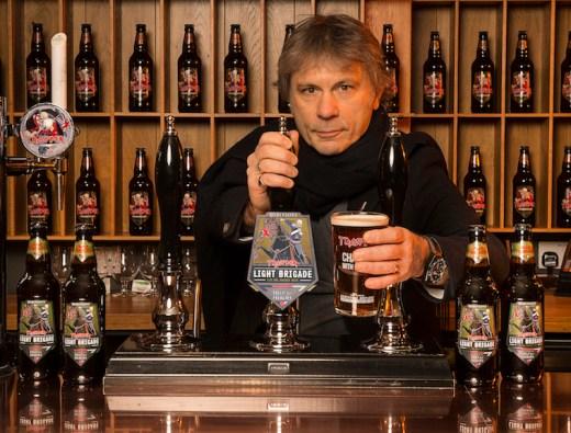 bruce dickinson, iron maiden beer, iron maiden, john mcmurtrie