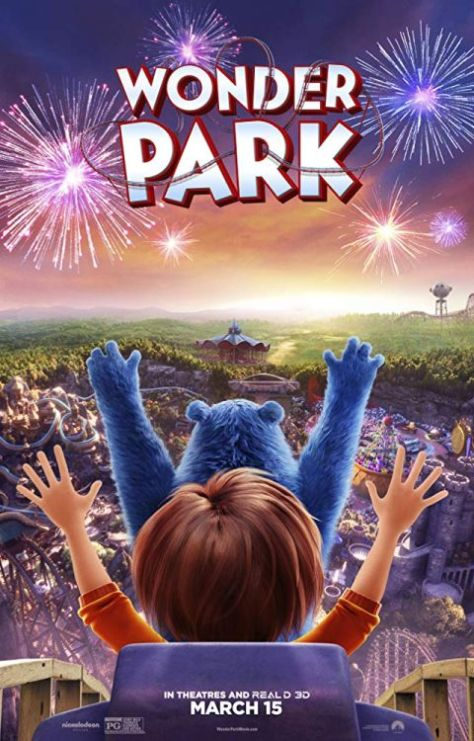 movie posters, promotional posters, wonder park, wonder park posters