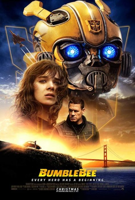 movie posters, paramount pictures, bumblebee