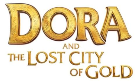 dora and the lost city of gold movie logo