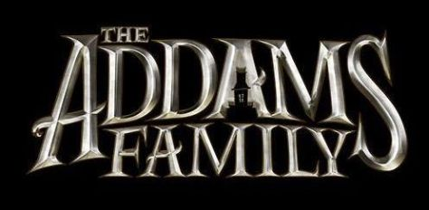 the addams family film logo