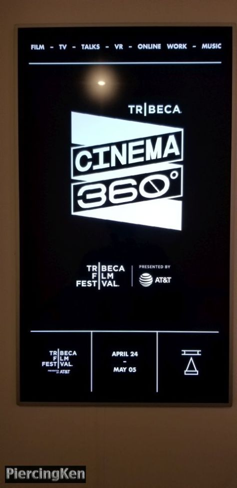 tribeca film festival 2019, cinema 360