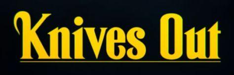 knives out movie logo, lionsgate films