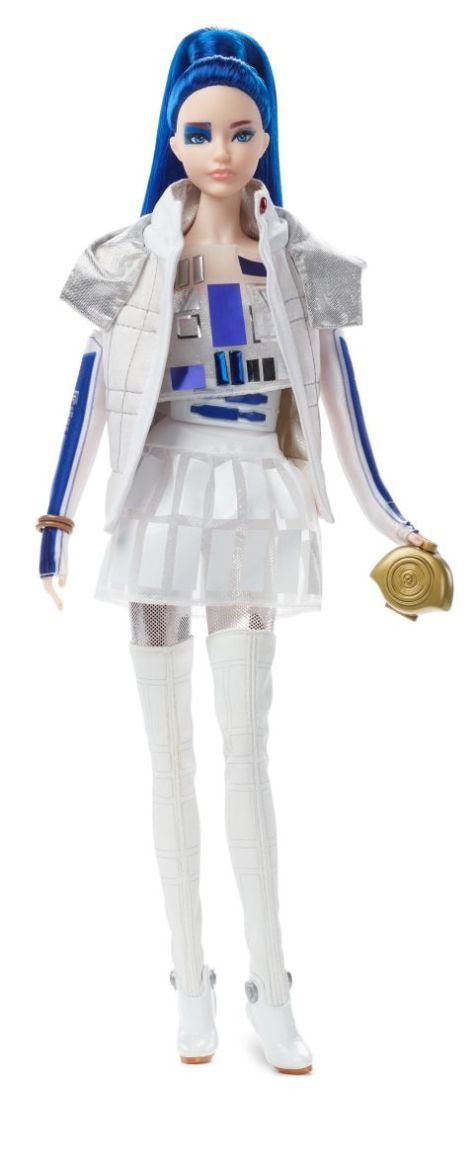 mattel, barbie, star wars, fashion dolls, star wars x barbie