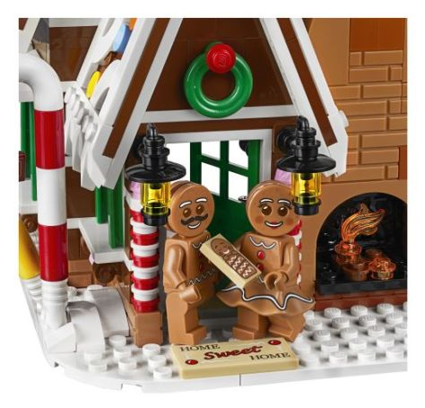 lego, lego creator expert building sets, lego gingerbread house