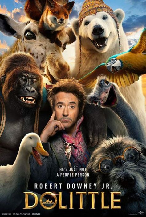 movie posters, promotional posters, universal pictures, dolittle, dolittle movie posters