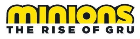 minions the rise of gru film logo