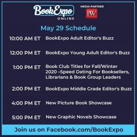 bookexpo online, bookexpo online 2020, reedpop special events