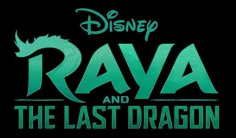raya and the last dragon movie logo, walt disney pictures