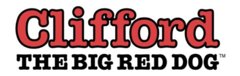 clifford the big red dog logo