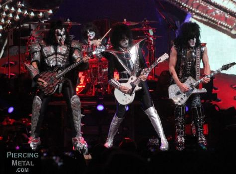 kiss, kiss photos, kiss live photos, ken pierce media photography