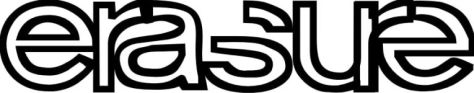 band logos, erasure, erasure logo