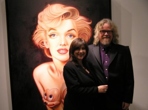 ron english, son of pop, ron english gallery opening, son of pop painting showcase
