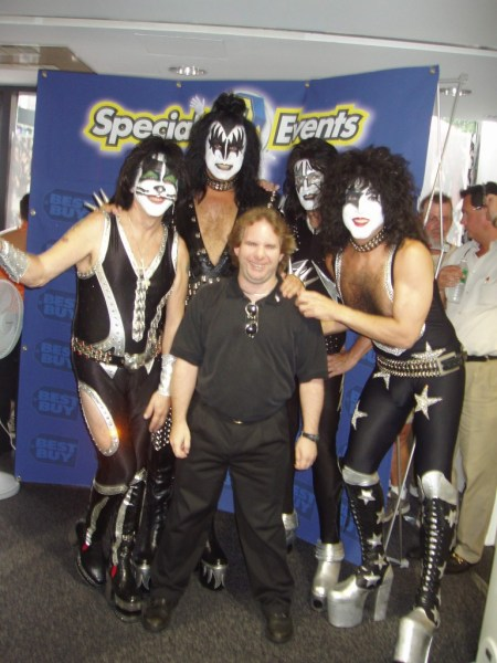 Ken and KISS at Best Buy 2003