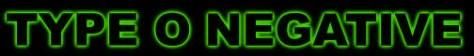 Logo - Type O Negative