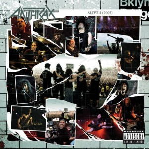 """""""Alive 2: The Music"""" by Anthrax"""