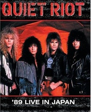 """""""'89 Live In Japan"""" by Quiet Riot"""