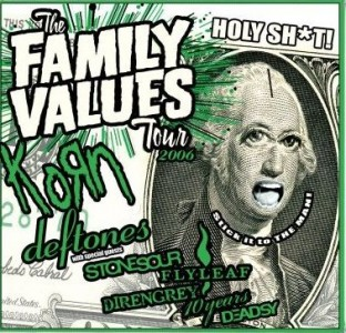 """Family Values Tour 2006"" by Various Artists"