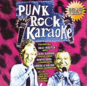 """""""Punk Rock Karaoke"""" (CD/DVD) by Punk Rock Karaoke"""