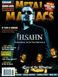 Cover - Metal Maniacs Magazine