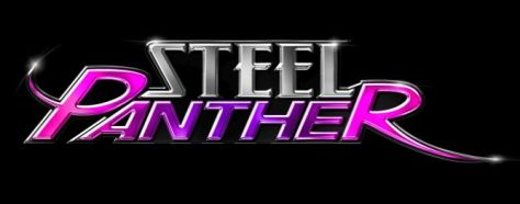 Image result for steel panther heading white on black