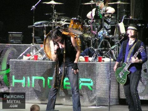 hinder, hinder live photos