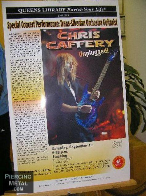 chris caffery, chris caffery concert photos